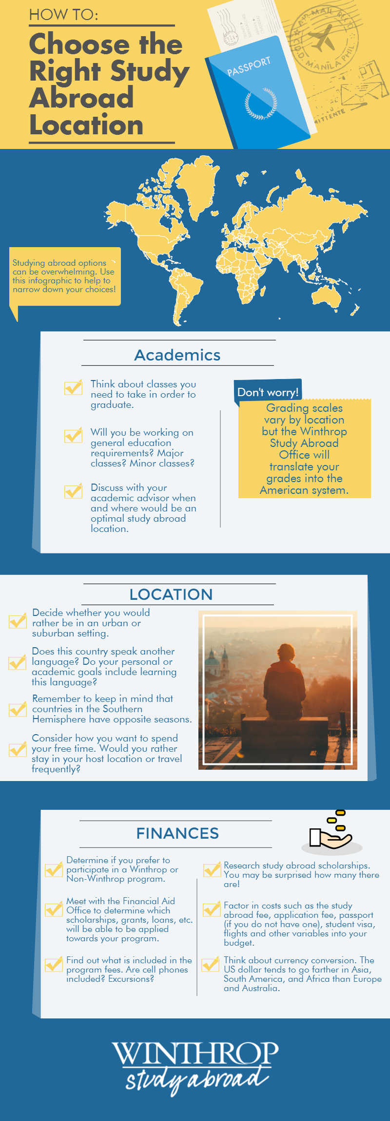How to Choose the Right Study Abroad Location
